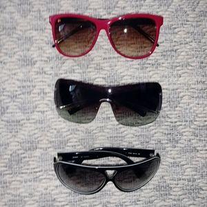 Lot of 3 Designer Sunglasses